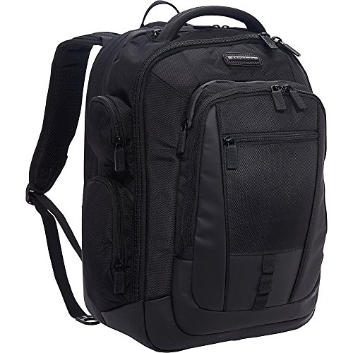 Samsonite Prowler ST6 Laptop Backpack - TSA-Approved - Fits Up To 17.3 Inch Laptops & Tablets - (Black)
