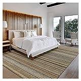 Tapis doux d'intérieur Simple et moderne Petits tapis Sisal cousu main Tapis naturel 5.2' x7.5' for Chambre Salon Home Décor Tapis Pour la décoration de bureau à domicile (Taille : 5.2'x7.5')