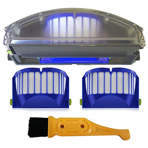 Gaoominy Nuevo para Roomba 500 Serie 600 Filtro de DepóSito de Polvo Aero Vac Recogedor de DepóSito Aerovac 510 520 530 535 540 536 531 620 630 650