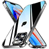 ZIZEV Military Crystal Clear Designed for iPhone 13 Pro Case [Never Yellowing][Military Grade Drop Test]Protective Shockproof Phone Case Slim Thin Hard Back & Soft Bumper iPhone 13 Pro 6.1''2021-Clear