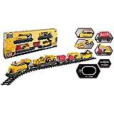 Toy State Cat Tren Construcción Express, Color Amarillo (55650)