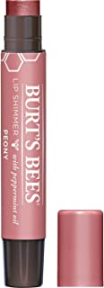 Burt's Bees 100% Natural Moisturizing Lip Shimmer, Peony - 1 Tube, 0.09 ounce