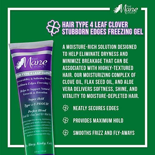 The Mane Choice The mane choice hair type 4 stubborn edges freeze gel, 4 Ounce