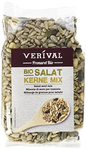 Verival Salat Kerne Mix - Bio, 6er Pack (6 x 150 g Beutel) - Bio