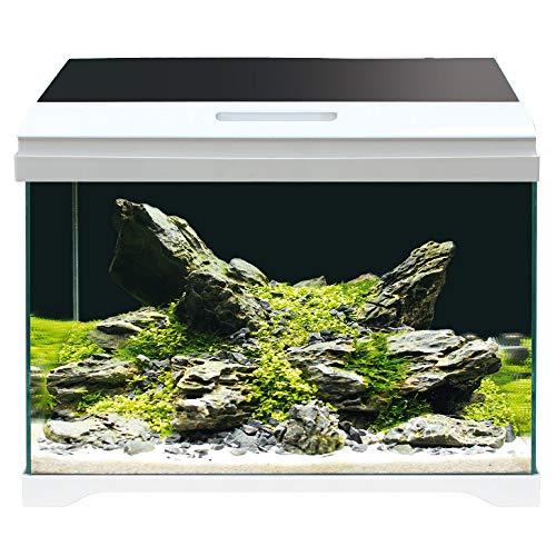 AMTRA MODERN TANK 50 LED / Acquario completo di illuminazione LED e filtro interno / cm 50,5x25,5x40 / 40 Litri