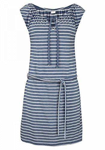 Venice Beach Strandbekleidung Strandmode, blau-weiß, 44