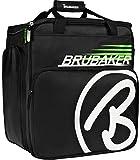 Brubaker 'Super Champion 2.0' Bolso para Deporte - Mochila Porta Botas De Esquí - Negro/Verde
