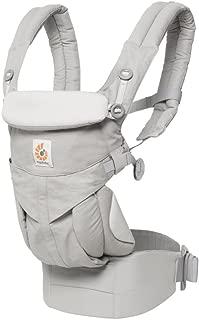 エルゴベビー(Ergobaby) 抱っこひも おんぶ 前向き抱き [日本正規品保証付] (洗濯機で洗える) ベビーキャリア 成長にフィット オムニ360/パールグレー CREGBCS360GRY