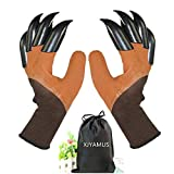 Garden Genie Gloves, Waterproof Garden Gloves with Claw For Digging...