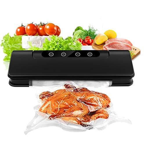 Vacuum Food Sealer Machine, Portable Vacuum Sealer, Mini Automatic Vacuum Sealer, Dry Moist Food Modes Intelligent LED Indicator Lights, With 15 pcs Vacuum Bags