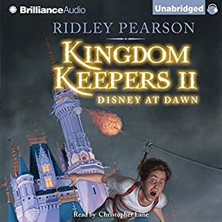The Kingdom Keepers II audiobook cover art