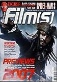 FILMS [No 1] du 01/05/2007 - DE PIRATES DES CARAIBES 3 A GRINDHOUSE - 100 FILMS 2007...