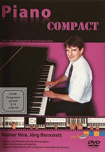 Piano COMPACT: DVD inklusive Übungsheft und Noten zum Ausdrucken