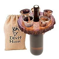 Sentez la touche royale ; buvez avec une véritable corne de bœuf – La corne à boire Premium Divit sera votre alternative préférée aux tasses et mugs modernes. On peut sentir l'originalité de cette shot en corne qui est composée de corne de bœuf. CORN...