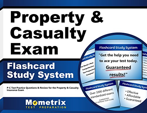 Property & Casualty Exam Flashcard Study System: P-C Test Practice Questions & Review for the Property & Casualty Insurance Exam (English Edition)