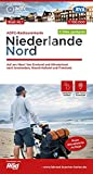 ADFC-Radtourenkarte NL 1 Niederlande Nord, 1:150.000, reiß- und wetterfest, GPS-Tracks Download: Auf ans Meer! Von Emsland und Münsterland nach ... und Friesland (ADFC-Radtourenkarte 1:150000)