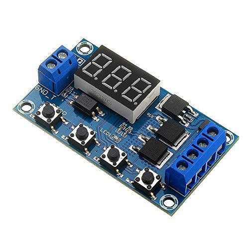 Generator accessories 3pcs del módulo de relé conmutador XY-J04 disparador Ciclo Tiempo de retardo de doble circuito MOS tubo Junta de Control