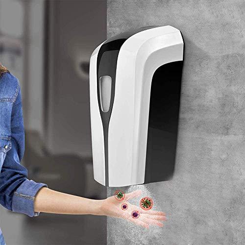 Vogvigo Automatischer Seifenspender,1000ML Home Automatische Desinfektionsspender,Wand montierter Alkohol Sprühgerät,Berührungslose Handdesinfektions Maschine,für Badezimmer,Küchen,Hotel