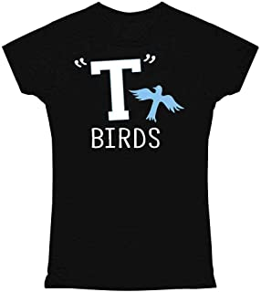 T Birds Tbird Costume Men Gang Logo Retro 50s 60s Graphic Tee T Shirt for Women