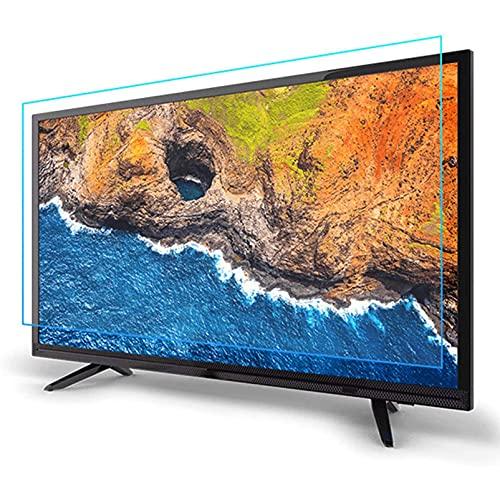 Wzglod Protector de Pantalla de TV 32-75 Pulgadas Anti-Blue Light Non-Glare Reducción Anti Rayada Película de protección de Ojos para LCD LED OLED QLED 4K Protector HDTV Película