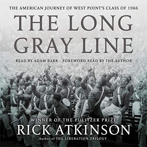 The Long Gray Line Audiobook By Rick Atkinson cover art