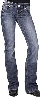 Women's 818 Contemporary X-Stitch Bootcut Jeans Denim 12 L