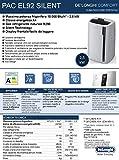 De'Longhi Pac EL92 Silent, Kunststoff, Weiß und Schwarz - 7