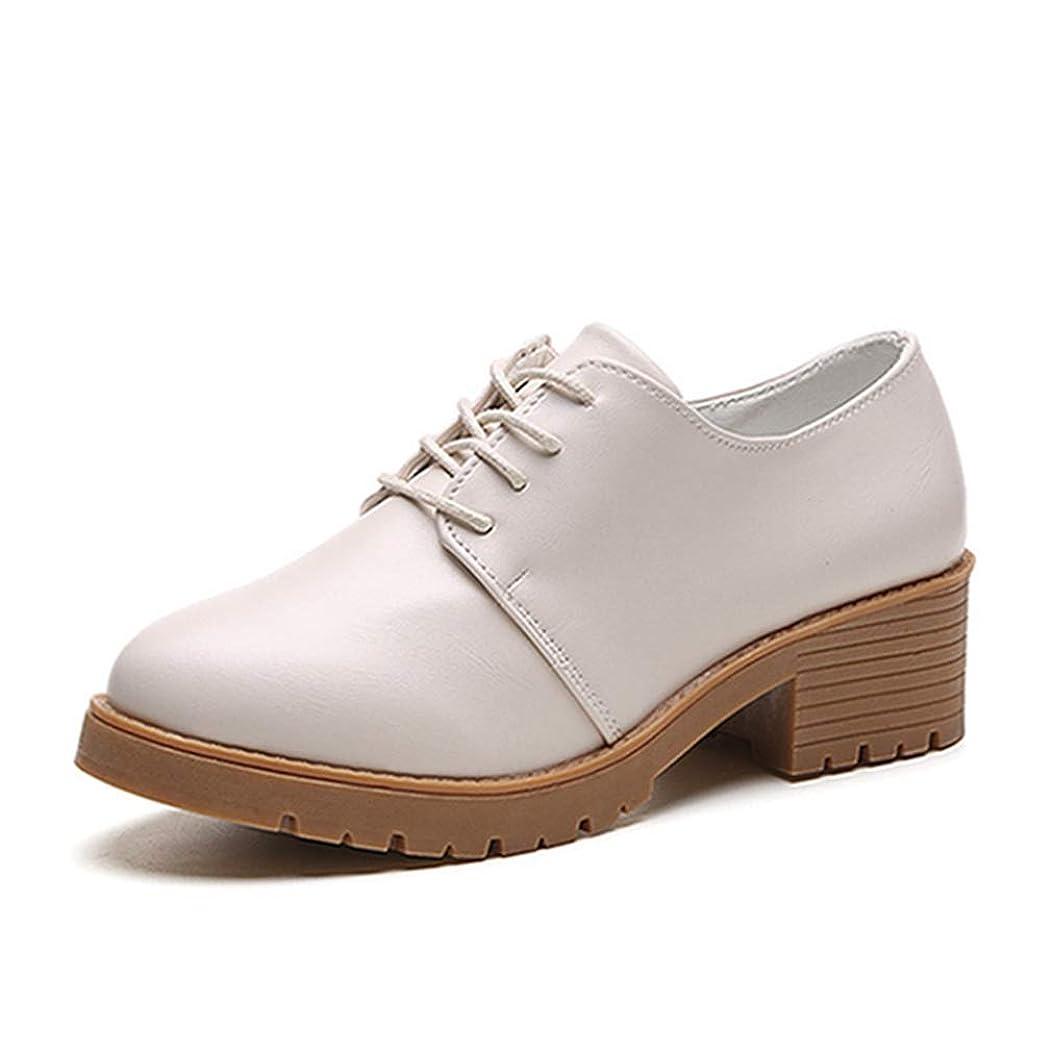 価値バイアス半径[イノヤシューズ] オックスフォード ブーティー レースアップシューズ 厚底 おじ靴 マニッシュシューズ ショートブーツ レディース 大きいサイズ 黒 編み上げブーツ 靴 歩きやすい 痛くない ローヒール
