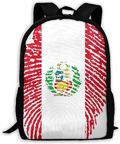 gxianyuyib Reiserucksack Laptop Rucksack Große Wickeltasche Peru Rucksack Schulrucksack für Frauen & Männer