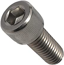 1/4-20 x 1/2 Socket Head Cap Screws, Full Thread, Allen Socket Drive, Stainless Steel 18-8, Bright Finish, Quantity 25 Pieces by Fastenere