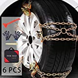 Best Snow Chains - ACUMSTE Car Snow Chains, Emergency Anti Slip Snow Review
