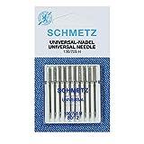 Agujas para Máquina de Coser Schmetz - Universal (Regular / Ordinario), Tamaño: 80/12 - Paquetes de 10 - Paquete...