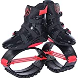 MLyzhe Rebound Jumps Shoes for Women Men Kids Play Outdoors Anti-Gravity Running Boots Bounce Shoe Jumping,XL