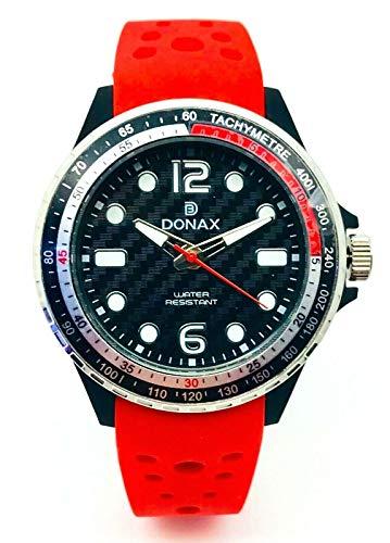 Donax DONAXU8174 - Reloj para niño - Ideal para comunión o confirmación rojo