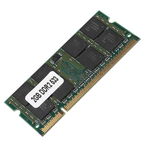 Wendry RAM de Memoria, Memoria RAM de 2GB, Memoria para la Placa Principal del Ordenador Portátil, Tarjeta de Memoria RAM (2GB DDR2 533MHz 200Pin)