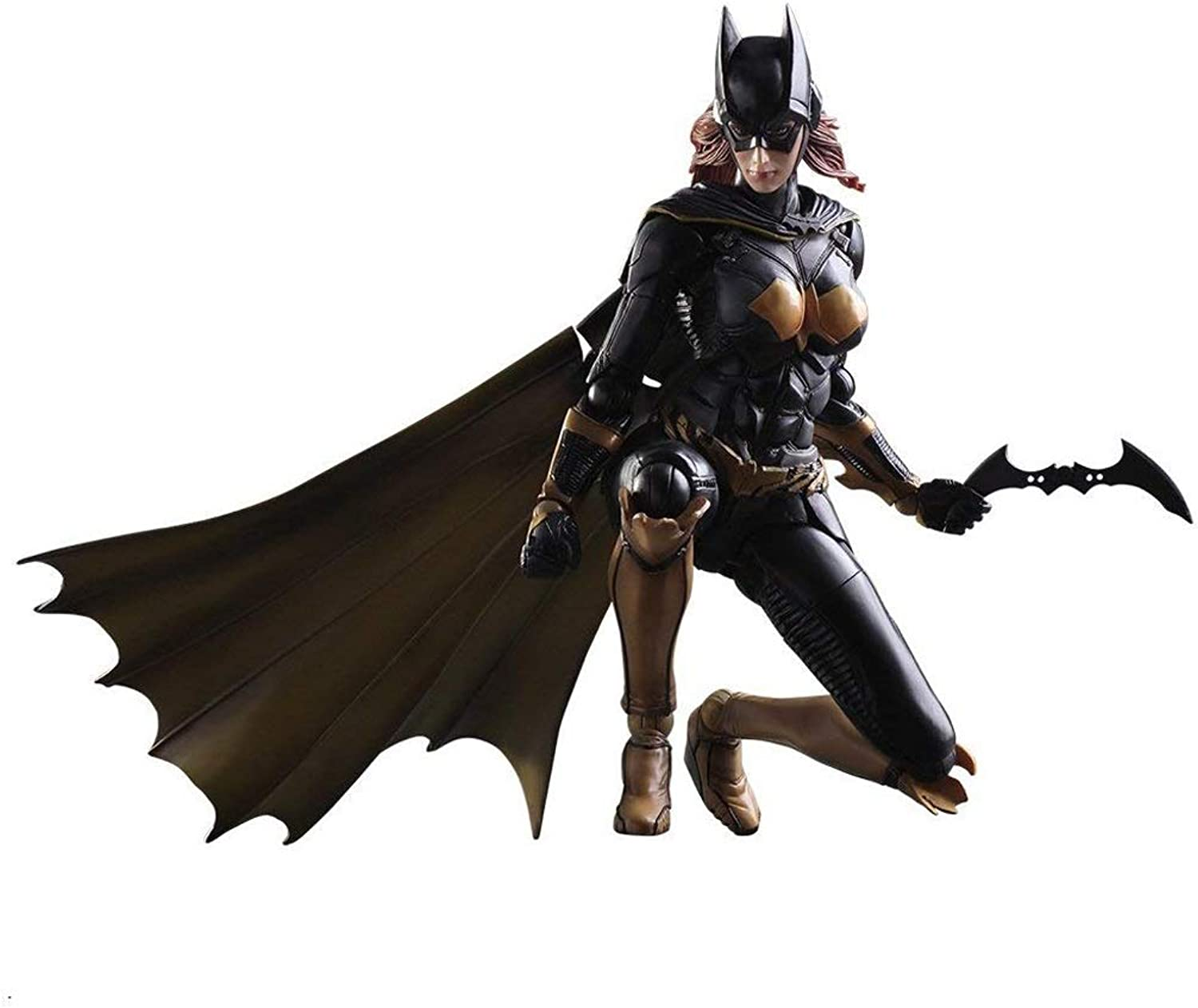 Siyushop Bat Hero Play Arts Kai Action Figure  Hero Action Figure And Weapon Decoration  26CM