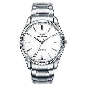 SANDOZ CLASSIC & SLIM 81357-00. Reloj suizo extraplano, de hombre,