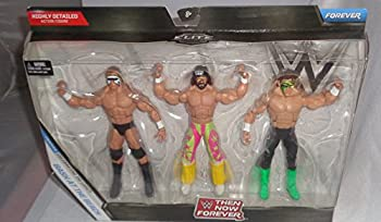 WWE Elite Collection Then Now Forever Bash at the Beach Exclusive Action Figure 3-Pack  Randy Savage Sting and Lex Luger