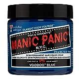 Manic Panic Classic Cream Semi Permanent Vegan Hair Color, Voodoo Blue, 4 Oz organic hair dye Dec, 2020