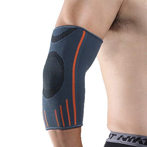 WY-Elbow Coderas para tendinitis (1 par) - Mangas de Apoyo para el Brazo para la tendinitis, Artritis, Bursitis, Soporte para el Codo de tenista, Tratamiento para Ejercicios, Alivio del Dolor,S