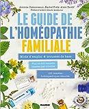 Le guide de l'homéopathie familiale