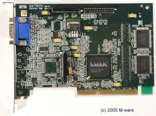 AGP-Grafikkarte Matrox MGA G100 ID2213