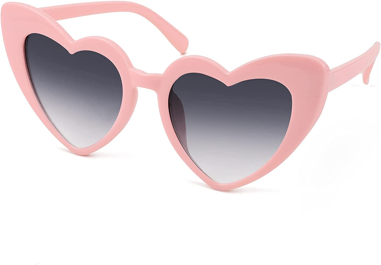 Dedication FEISEDY Vintage Heart Shaped Sunglasses Love Stylish Eyegl Outstanding Women