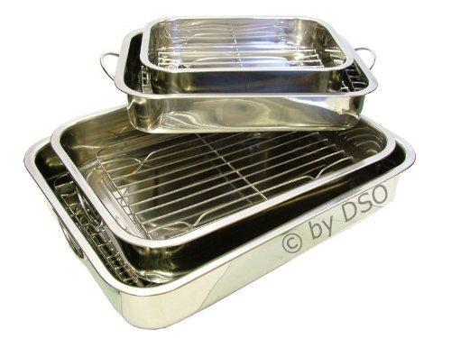 Prima 4 piezas Bandeja para horno platos con rejillas 17097C
