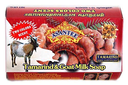 2 * Asantee Tamarind & Goat Milk Whitening Soap with Honey 135g by Asantee