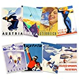 Wee Blue Coo Austria Skiing Travel Winter Sport Snow Alps