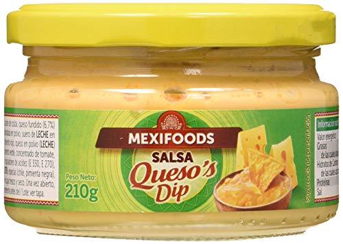 Mexifoods Salsa De Queso 210Gr 210 ml - Pack de 6