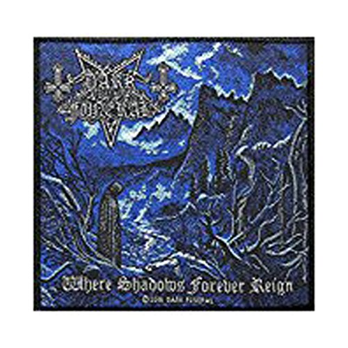 DARK FUNERAL Aufnäher WHERE SHADOWS FOREVER REIGN Patch gewebt 10 x 10 cm