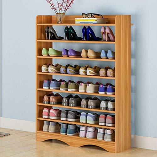 M-YN Zapatero Organizador Ajustable de 8 gradas de Madera a 245 Pares de Zapatos Estantes de gabinetes de Almacenamiento con Piezas de Repuesto fáciles de ensamblar (Color : C)