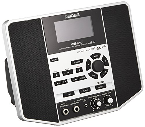 BOSS JS-10 Audio Player mit Gitarreneffekten Jam Station